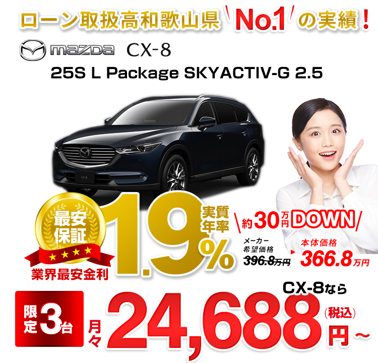 CX-8 25S L Package